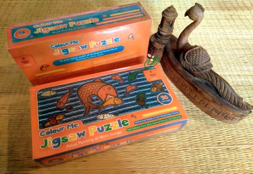 Jigsaw Puzzle-Painting Kit