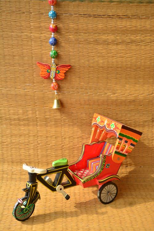 Cycle rickshaw toy